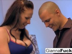 Gianna and her big natural tits love to get fucked!