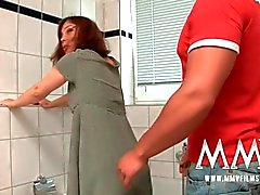 MMV Films Redhead German Mature loves cock