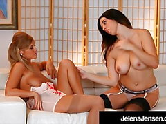 Penthouse Pet Jelena Jensen Eats Alice Wonder's Pussy!