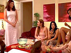 nubile all girl Orgy soiree