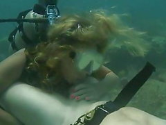 Scuba Blowjob on the Seabed