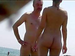 Nudist Beach Çıplak Babes Tanning Spy Cam HD Video