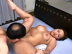 Kinky Asian MILF And Her Male Slave