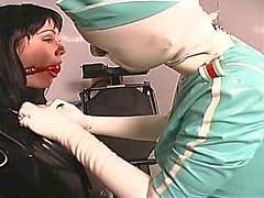 Fetish ho gets gagged and teased