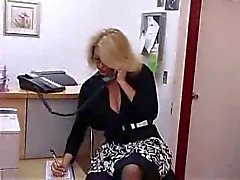Busty Olgun Sekreter Office Gets Fucked