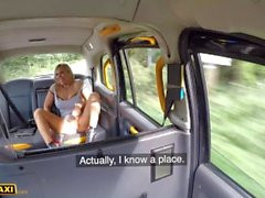 Fake Taxi Blonde MILF Bianca Finnish back for one more fuck