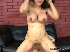 Latina With Big Jugs Carmen Fucks Like A Minx