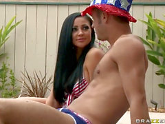 BRAZZERS superb nail american Girl