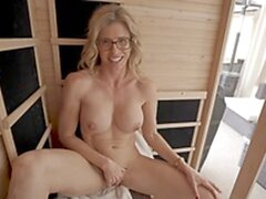 'Naked Sauna Fun With My Friends Hot stepmom Cory Chase'