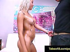 FetishNetwork Marsha May a attrapé peeping stepbro