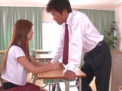 'Yura Kasumi laned teacher´s dick up her tight pussy - More at Pissjp com'