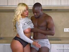 Irmaniac - Hot Big Tits Blonde Ride BBC