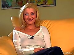 Heaven sent blonde beauty Carli Banks gives interview