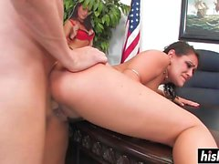 Charley Chase fucked in the office