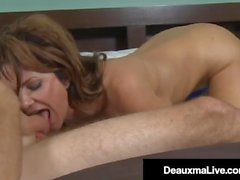 Huge Titty Cougar Deauxma Loves Hard Young Cock & That Cum!
