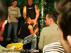 Young twink gays movies Dozens of dudes go bananas for banan